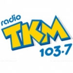Logo da emissora Radio TKM 103.7 FM