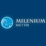 Logo da emissora Radio Milenium 106.7 FM