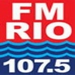 Logo da emissora Radio Rio 107.5 FM