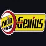 Logo da emissora Genius 95.3 FM
