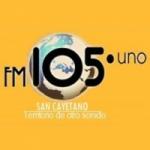 Logo da emissora Radio San Cayetano 105.1 FM
