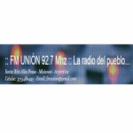 Logo da emissora Radio Unión 92.7 FM