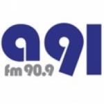 Logo da emissora Radio Antena 91 90.9 FM