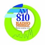 Logo da emissora Radio Federal 810 AM