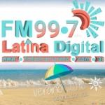 Logo da emissora Radio Latina 99.7 FM