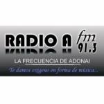 Logo da emissora Radio A Adonai 91.3 FM