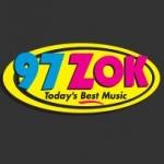 Logo da emissora Radio WZOK 97.5 FM
