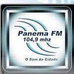 Logo da emissora Rádio Panema 104.9 FM