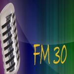 Logo da emissora Radio FM 30 93.5