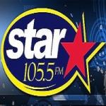 Logo da emissora Radio WZSR Star 105.5 FM