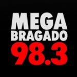 Logo da emissora Radio Mega 98.3 FM