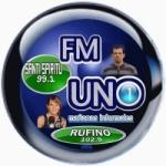 Logo da emissora Radio FM Uno 102.9