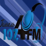 Logo da emissora R�dio 107.4 FM