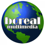 Logo da emissora Radio Boreal 92.5 FM