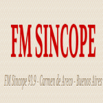 Logo da emissora Radio Sincope 93.9 FM
