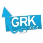 Logo da emissora Radio GRK 107.4 FM