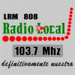 Logo da emissora Radio Local 103.7 FM