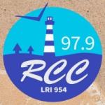 Logo da emissora Radio Comunidad Claromecó 97.9 FM