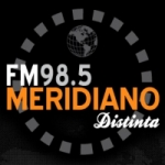 Logo da emissora Radio Meridiano 98.5 FM