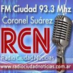 Logo da emissora Radio Ciudad Noticias 93.3 FM