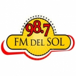 Logo da emissora Radio Del Sol 98.7 FM