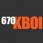 Logo da emissora Radio KBOI 670 AM