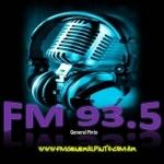 Logo da emissora Radio General Pinto 93.5 FM