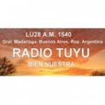 Logo da emissora Radio Tuyú 1540 AM