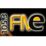 Logo da emissora Radio Espacio 105.3 FM