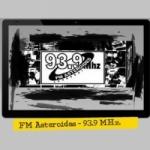 Logo da emissora Radio Asteroides 93.9 FM