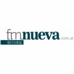 Logo da emissora Radio Nueva 98.9 FM