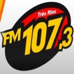 Logo da emissora R�dio FM 107.3