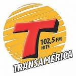 Logo da emissora Rádio Transamérica Hits 102.5 FM