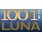 Logo da emissora Radio Luna 100.1 FM