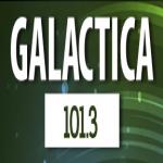 Logo da emissora Radio Galáctica 101.3 FM