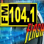 Logo da emissora Radio La 104.1 FM