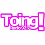 Logo da emissora Radio Toing 92.7 FM