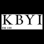 Logo da emissora Radio KBYI 100.5 FM
