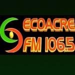 Logo da emissora R�dio Eco Acre 106.5 FM