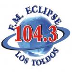 Logo da emissora Radio Eclipse 104.3 FM