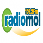 Logo da emissora Radio Mol 105.2 FM