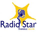 Logo da emissora Radio Star 106.5 FM