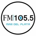 Logo da emissora Radio Rivadavia 105.5 FM