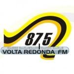 Logo da emissora Rádio Volta Redonda 87.5 FM