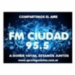 Logo da emissora Radio Ciudad 95.5 FM