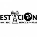 Logo da emissora Radio Estaci�n 21 107.1 FM