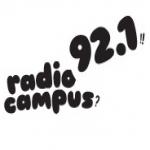 Logo da emissora Radio Campus 92.1 FM