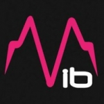 Logo da emissora Radio Vibration 107.2 FM