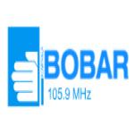 Logo da emissora Radio Bobar 107.7 FM