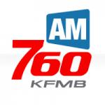 Logo da emissora Radio KFMB 760 AM